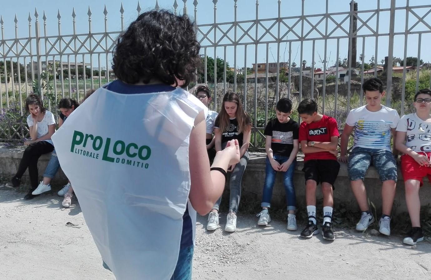 Le scuole di Giugliano in visita al parco di Liternum e dintorni