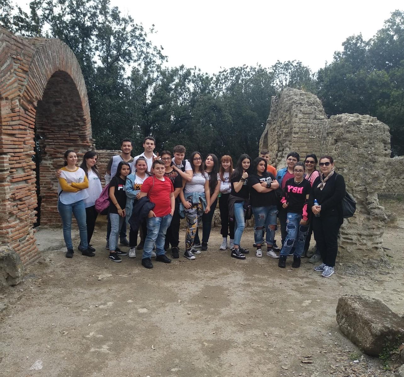Visite al Parco di Cuma della scuola Cante di Giugliano in Campania